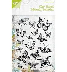Joy!Crafts francobollo trasparente, farfalle