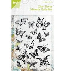 Joy!Crafts sello transparente, mariposas