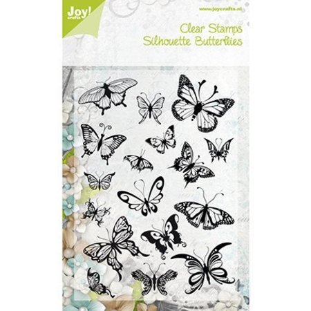 Joy!Crafts Transparent Stempel, Schmetterlinge