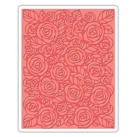Tim Holtz Prægning mapper, roser fra Tim Holtz - Texture Fades