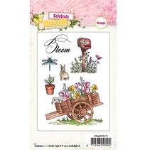 Transparent Stempel: Thema, Garten
