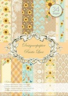 REDDY Designerpapierset, Pizzo Rustico