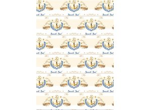 REDDY Designerpapierset, Nautical Gold