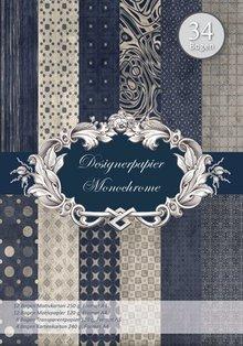 REDDY Designerpapierset, Monochrome