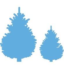 Marianne Design Stanzschablone: Set Tannenbaumen