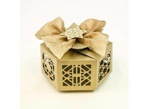 TONIC Cutting dies: 3D hexagon box