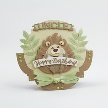 TONIC Punching template: Hedgehog in 3D