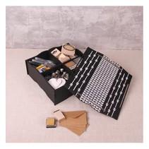 Aufbewahrung Box mit Fächer und Deckel