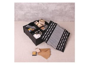 Holz, MDF, Pappe, Objekten zum Dekorieren Opbevaringsboks med rum og låg