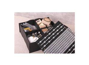 Holz, MDF, Pappe, Objekten zum Dekorieren Storage box with compartments and lid