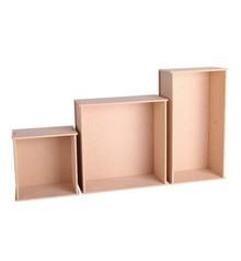 Holz, MDF, Pappe, Objekten zum Dekorieren Dekoration kasser