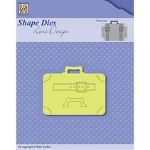 Punching template: Suitcases