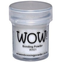Wow! Bonding Powder für metallic Folien!