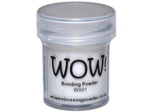 FARBE / STEMPELINK Wow! Bonding Powder for metallic films!