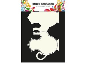 Dutch DooBaDoo Card Type: Teapot A4