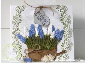 Marianne Design Stansning og prægning skabelon, hyacinter