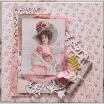 "Lablanche carte ""Roses"" 6"