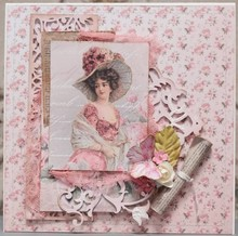 """LaBlanche Lablanche Papers """"Roses"""" 6"""