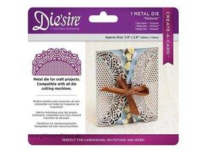 Die'sire NEW cutting dies: Filigree Card Design Victoria