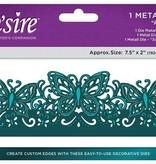 Die'sire NUEVA troqueles de corte: Tarjeta de filigrana de gran formato Edge'ables, mariposas