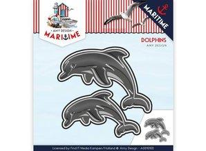 Amy Design Stanzschablone: Dolfinen