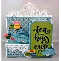 Ponsen sjabloon: Tea voor u