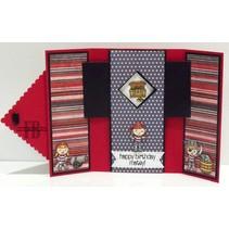 Ponsen sjabloon: Magic Card, rechthoek