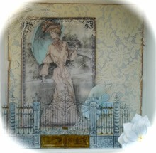 LaBlanche LaBlanche Stempel: Lady with Parasol