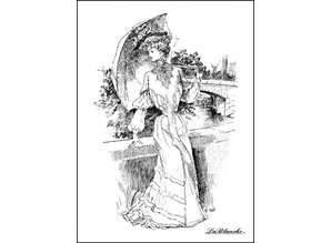 LaBlanche LaBlanche Stamp: Lady with Parasol