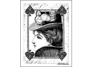 LaBlanche LaBlanche stamp: Queen of Spades