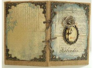LaBlanche 12 Metal Scrapbook Verzierungen