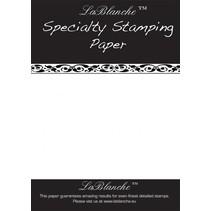 Spezielles Stempelpapier von LaBlanche