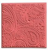 1 textuur mat, Paisley, 90 x 90 mm