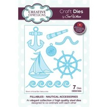 Stamping stencils: Nautical Accessories