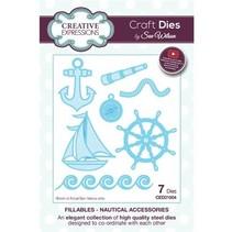 Stanzschablonen: Nautical Accessories