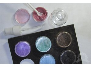 FARBE / STEMPELINK 12 Farve: Mix & Match Pigment pulver
