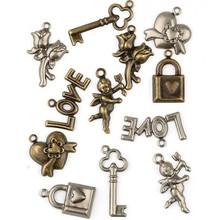 Embellishments / Verzierungen Embellishments, 12 Charms