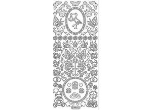 Sticker Ziersticker: baby and wedding decorations
