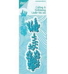 Joy!Crafts plantilla de perforación: bajo el agua, coral