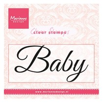"Transparent Stempel: ""Baby"""