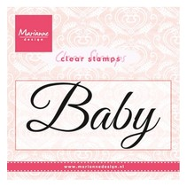 "Transparante Stamp: ""Baby"""