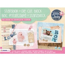 Komplett Sets / Kits A5 punching block: Little Baby nr.01