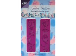 Joy!Crafts Stamping template: 2 stamping with various baby buttons