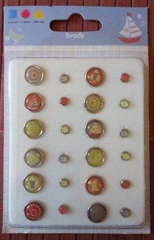 Embellishments / Verzierungen clavitos de epoxy, 12 grandes y 12 pequeños - Copy - Copy