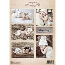 Bilderbogen, A4, baby boy