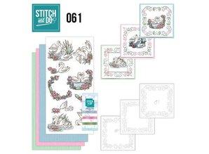 BASTELSETS / CRAFT KITS: Card sets with sticker art