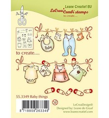 Leane Creatief - Lea'bilities Transparent stamp: baby
