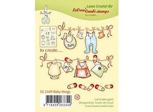 Leane Creatief - Lea'bilities Transparent Stempel: Baby