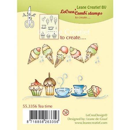 Leane Creatief - Lea'bilities Transparent Stamp: Tea Time