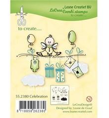 Leane Creatief - Lea'bilities Stamp trasparente: Celebration